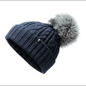 North Face Pom Beanie